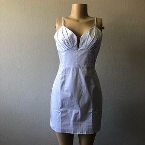 Fame & partners white sleeveless mini dress SZ 6